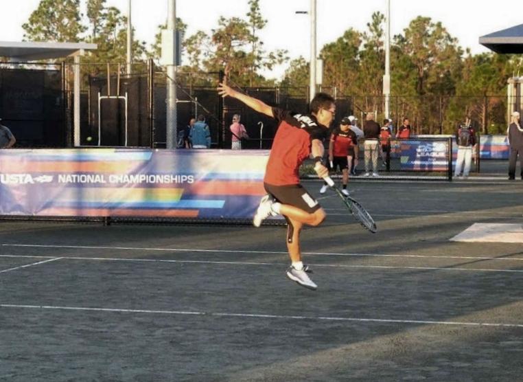Albert Murata Playing at Nationals
