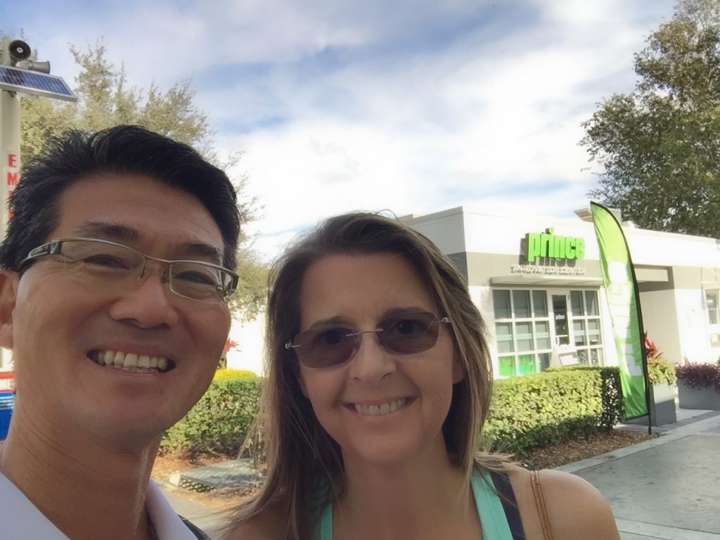 Albert & Heather Murata at the Prince Innovation Center at the IMG Academy, Florida
