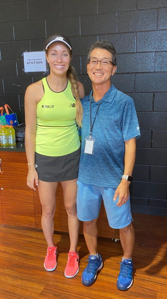 Danielle Collins & Albert Murata