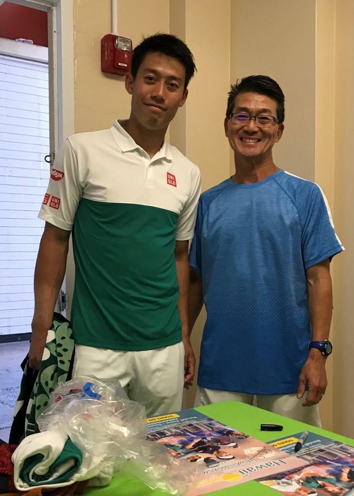 Kei Nishikori & Albert Murata