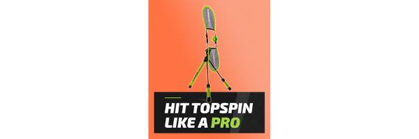 TopspinPro — Innovative Groundstroke Tennis Training Aids
