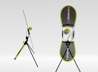 TopspinPro — Innovative Groundstroke Tennis Training Aids - more recent model