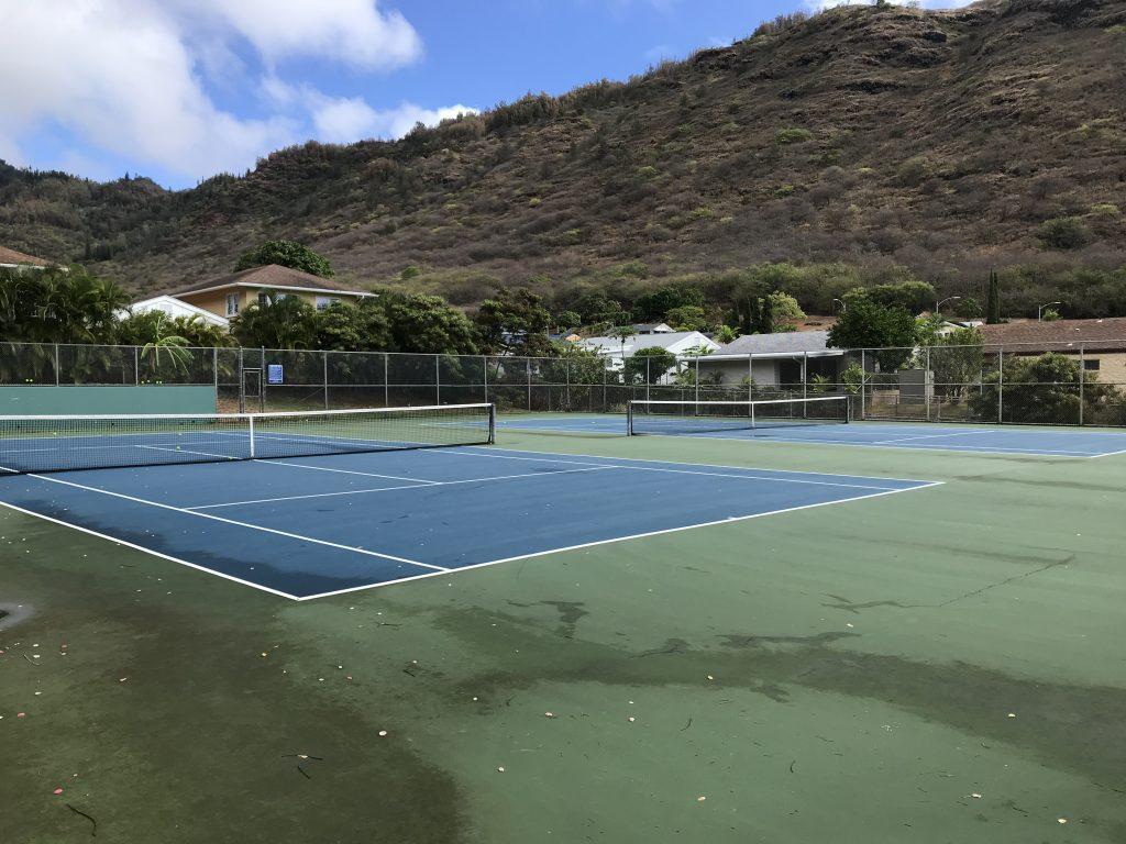 Mystery Game: Hawaii Tennis Courts Kuli'ou'ou Park