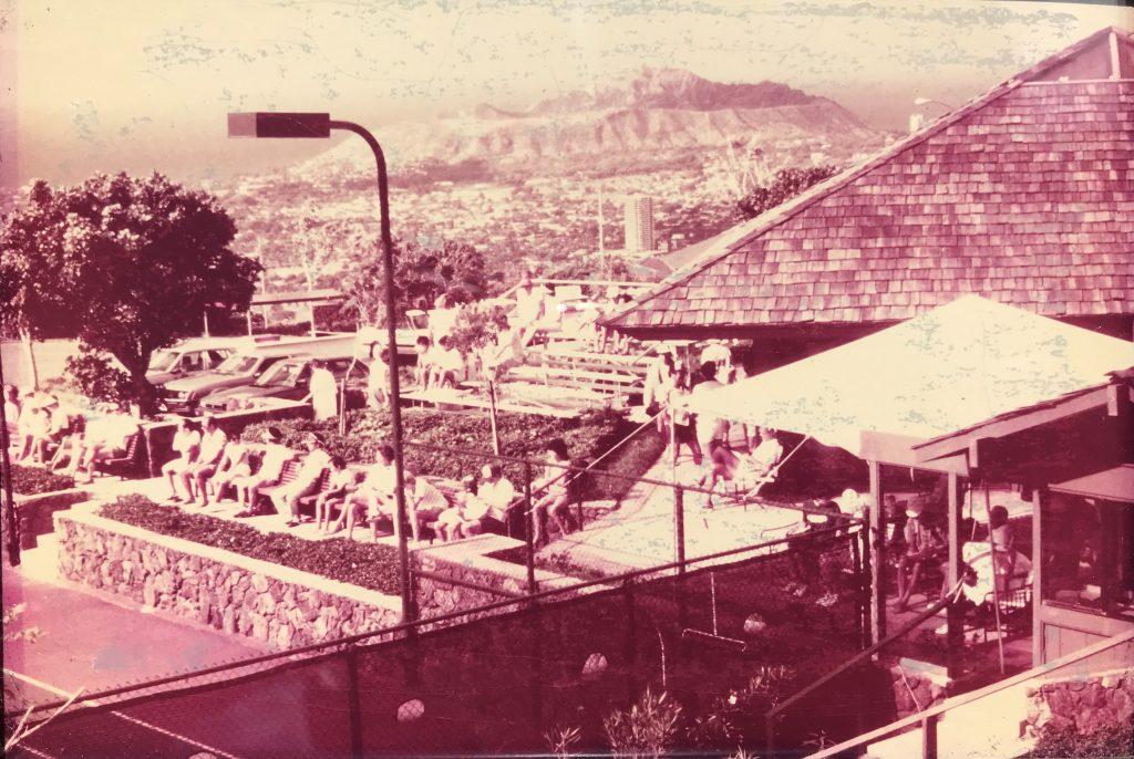 Courtside Diamond Head — USTA Women's Circuit of Hawaii — 1985 Tournament