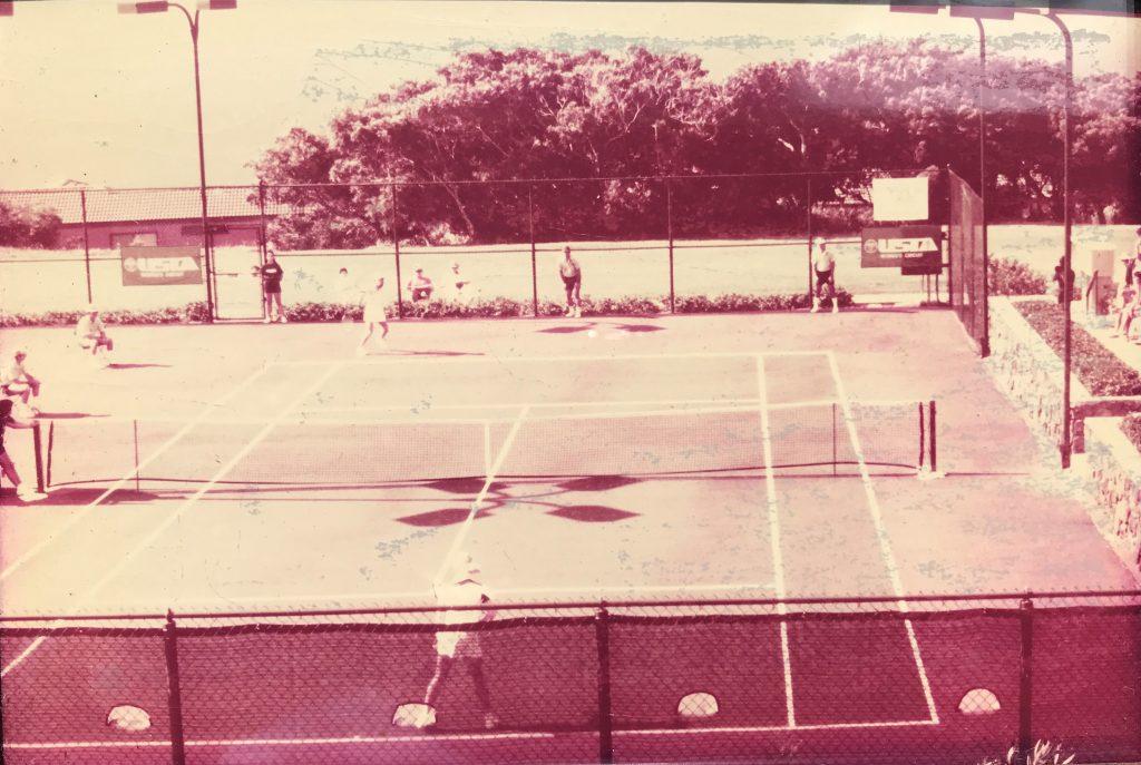Bleachers — USTA Women's Circuit of Hawaii — 1985 Tournament
