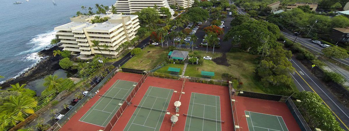 Tennis Facilities at the Royal Kona Resort - Director of Tennis, Albert Murata