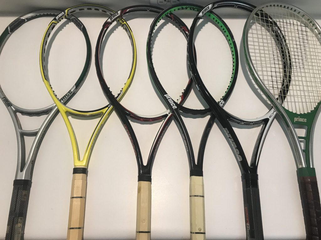 Used Tennis Racquets - Prince