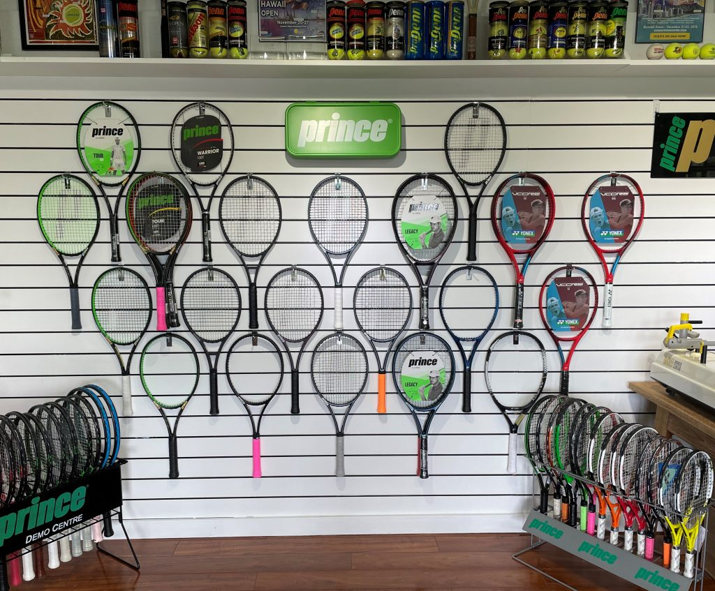 Royal Kona Resort Tennis Club - AM Stringing Pro Shop - Racquet Tennis Services and Sales