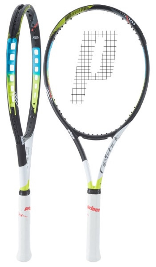 Prince Ripstick 100 tennis racquets