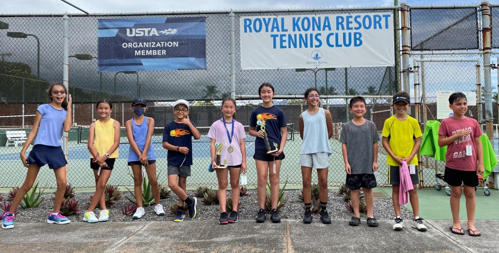 Royal Kona Resort Tennis Club - July 17, 2021 – Summer Green Ball Tournament