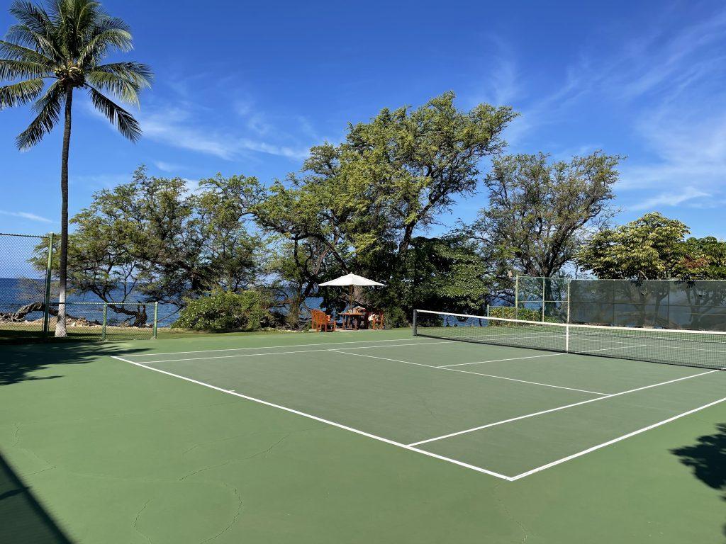 Seaside Tennis Club (court #3) at Mauna Kea Beach Hotel