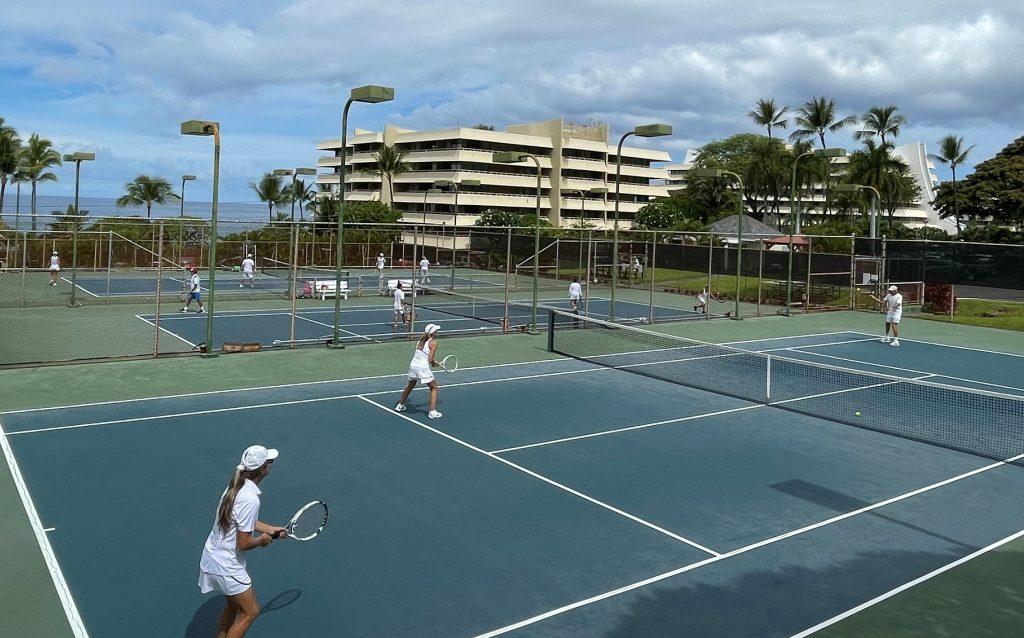 Royal Kona Resort Tennis Club - July 11 – 1st, 2021 Annual Breakfast at Wimbledon - Round-Robin Mixed Doubles